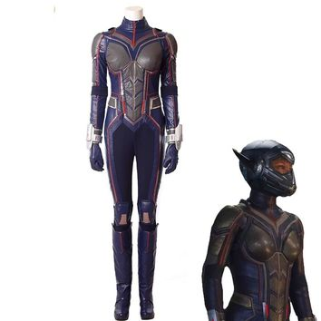 High Quality Wasp Cosplay Costume New Antman Costume For Woman Custom Made