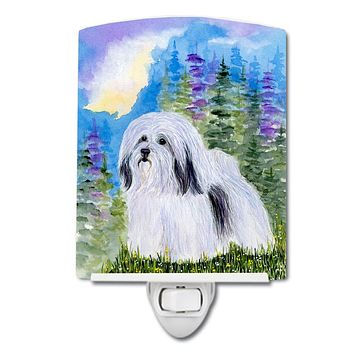 Havanese Ceramic Night Light SS1034CNL
