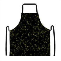 Yellow Speckle Pattern Apron