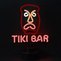 Tiki Bar Neon Scuplture