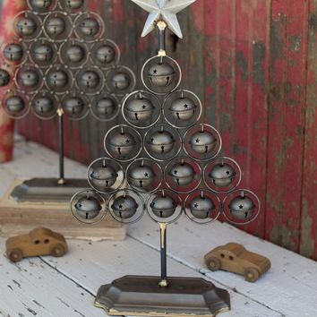 Set of 2 Christmas Bell Trees