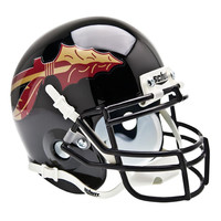 Florida State Seminoles NCAA Authentic Mini 1-4 Size Helmet (Alternate Black 1)