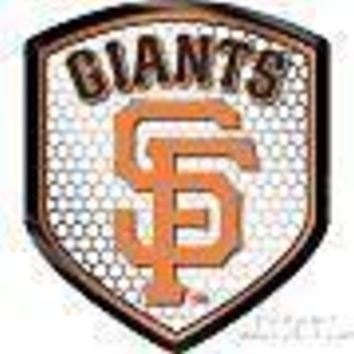 San Francisco Giants SF SHIELD Reflector Emblem Decal Baseball Auto Home