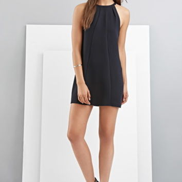 FOXIEDOX Halter Shift Dress