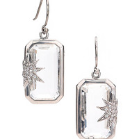 Elizabeth Showers Hope Star Deco Earrings - Max & Chloe