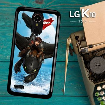 Toothless How To Train Your Dragon Y0783 LG K10 2017 / LG K20 Plus / LG Harmony Case