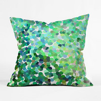 Spring Rain Outdoor Throw Pillow