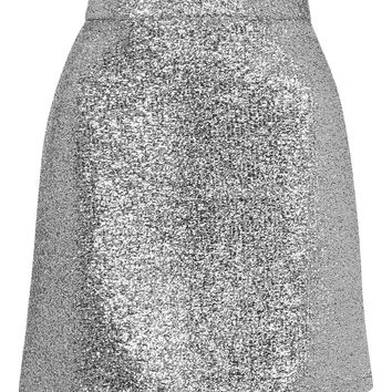 **Metallic Silver Tinsel Mini Skirt by Jaded London | Topshop
