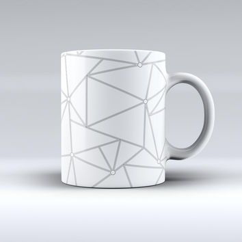The Simple Connect ink-Fuzed Ceramic Coffee Mug