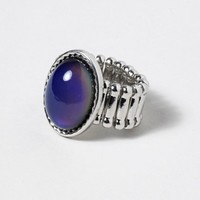 In a Mood Stretch Ring | Claire's