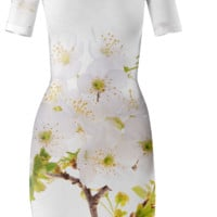 Anelys Flowers Primavera Bodycon Dress