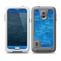 The Vivid Blue Techno Lines Skin Samsung Galaxy S5 frē LifeProof Case