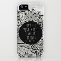 Let go of the past. iPhone & iPod Case by Michaela