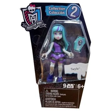 "Mega Bloks Monster High 3"" Twyla Figure Series 2"