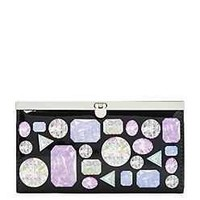 Diamond and Gems Accordion Wallet