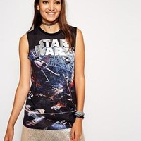 ASOS | ASOS Tank Top with Star Wars Print at ASOS