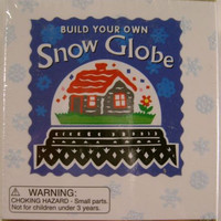 Build Your Own Snow Globe Alison Trulock Mini Kit Book Glitter