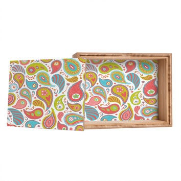 Heather Dutton Power Paisley Storage Box