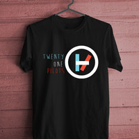 T shirt, Men T shirt, Women t shirt twenty one pilots logo's