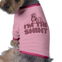 I'M THE SHIHT Shih Tzu Shirt Doggie Tshirt from Zazzle.com