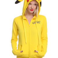 Pokemon I Am Pikachu Girls Hoodie