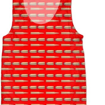Bullet Kids Tank Top Red