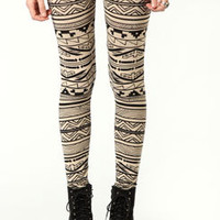 Catherine Aztec Print Leggings