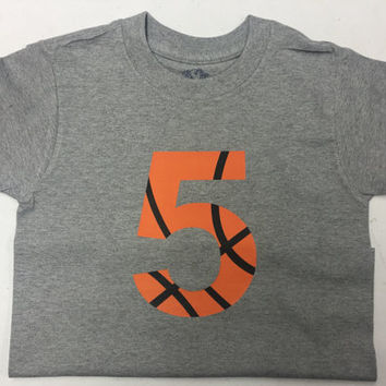 Basketball number birthday shirt!