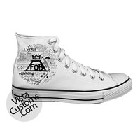 Fall Out Boys White shoes New Hot Shoes