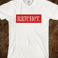 Ratchet In Red Tee - The Dawl House