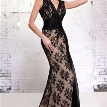 MNM Couture 9605 | Evening Gowns | Prom Dresses | Mother of the Bride Dresses | Pageant Gowns | GownGarden.com