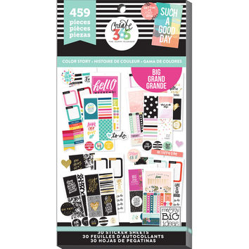Create 365™ The Big Happy Planner™ Color Story Value Pack Stickers