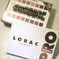 Lorac MEGA PRO 3 Palette 32 color eye shadow plate earth color high light lasting [9876546636]