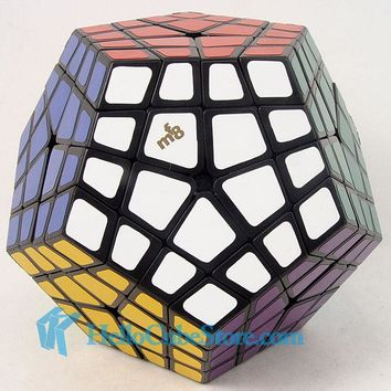 MF8 Master Kilominx Puzzle Magic Cube Black(stickered) Very Challenging Twist Spring Puzzle Cubo Magico Learning Education Toys