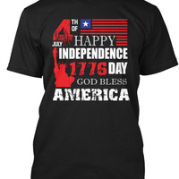 4th of July USA Independence Day T-shirt