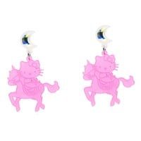 Hello Kitty Unicorn Dangle Earrings