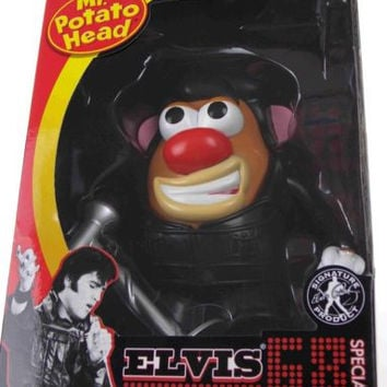 Elvis Presley 68 Special Mr Potato Head Hasbro Microphone Signature Product NEW