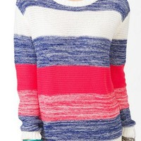 Thick Striped Knit Sweater | FOREVER 21 - 2021839506