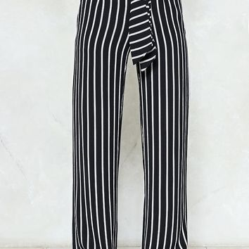 Mark My Words Striped Pants