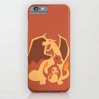 Pokemon 4 5 and 6 iPhone & iPod Case by Citron Vert