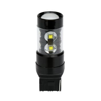 50W 10-SMD LED Car Backup Reversing Light Turn Signal Tail Lamp Bulb Replacement for T20 Socket White
