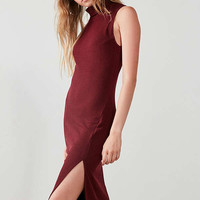 Silence + Noise Jodi Mock Neck Bodycon Midi Dress | Urban Outfitters
