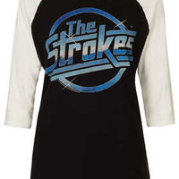 THE STROKES RAGLAN TEE BY AND FINALLY