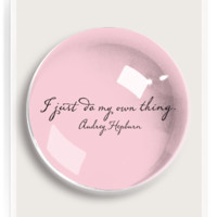 I Just Do My Own Thing French Crystal Dome Paperweight
