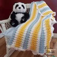 Pattern: X Stitch Afghan