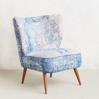Dhurrie Occasional Chair by Anthropologie