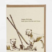 Smitten Kitten B's & H's Birthday Card- Assorted One