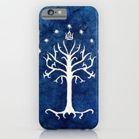 The White Tree iPhone & iPod Case by Jackie Sullivan