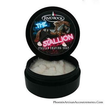 "RazoRock ""The Stallion"" Italian Shaving Soap"