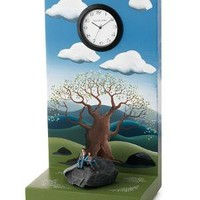 Between a Rock and a Soft Place Clock